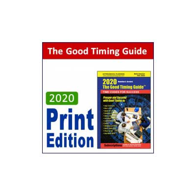 2020 good timing print