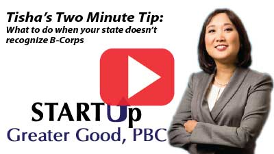 2-Minute Tip: What If Your State Doesn't Recognize B-Corps
